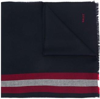 Bally Striped Knit Scarf
