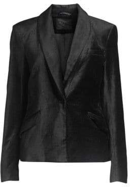 7 For All Mankind Jen7 by Tailored Velvet Blazer