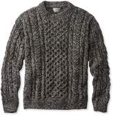 L.L. Bean L.L.Bean Heritage Sweater, Irish Fisherman's Crewneck