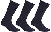 John Lewis Wool Rich Long Socks, Pack Of 3
