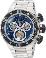 Invicta Men's 'Reserve' Quartz Stainless Steel Casual Watch, Color:-Toned (Model: 23566)