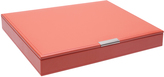 Wolf Large Stackable Tray with Lid, Coral