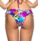 THE MESH KING COQUETA Sexy Hot Brazilian Waved Bikini Bottom Swimsuit Scrunch Samba