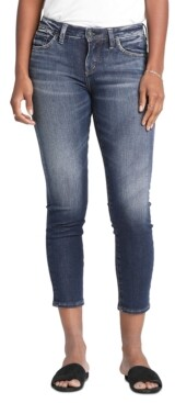 Silver Jeans Co. Banning Skinny Crop Jeans