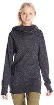 Volcom Juniors' Tower Long Fleece Pullover with Hood