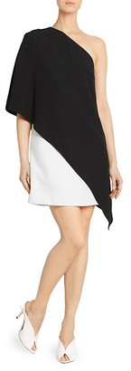 Givenchy One-Shoulder Draped Dress