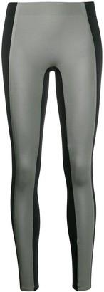 Reebok x Victoria Beckham panelled performance leggings