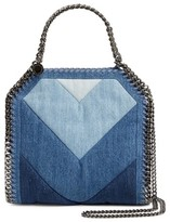 Stella McCartney Small Falabella Denim Tote - Blue