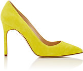 Manolo Blahnik Women's BB Suede Pumps-YELLOW