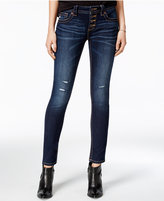 Miss Me Dark Blue Wash Skinny Jeans