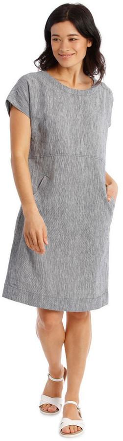 Regatta Extended Short Sleeve Curved Waist Seam Dress