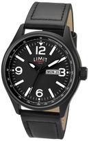 Limit Black Date Strap Watch