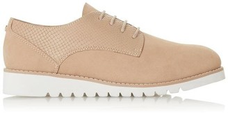 Dune London WF Flinch Mixed Upper Lace Up Shoes