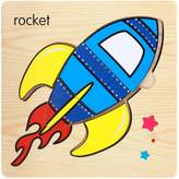 Boddenly Kids Baby Toy ,Wooden Jigsaw Puzzle Educational Developmental Baby Kids Training Toy,Rocket