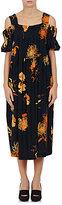Dries Van Noten Women's Dubois Stretch-Silk Crepe Midi-Dress