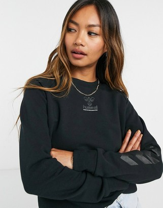Hummel Noni sweatshirt in black