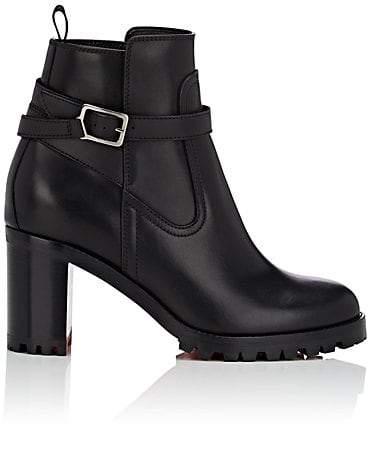 fb04acea61ce Christian Louboutin Leather Rubber Women s Boots - ShopStyle