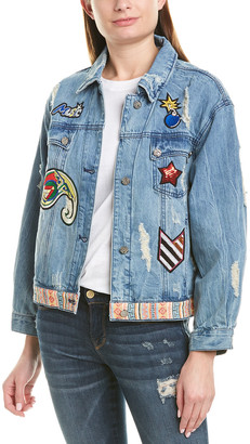 Etienne Marcel Patch Denim Jacket