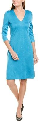 St. John Milano Evening Sheath Dress