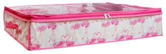 Laura Ashley Under the Bed Storage Bag in Pretty Flamingo