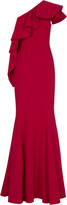 Jay Godfrey Taj One Shoulder Gown