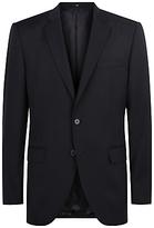 Jaeger Wool Regular Fit Suit Jacket, Navy