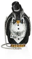 Judith Leiber Alfred Crystal Penguin Minaudiere