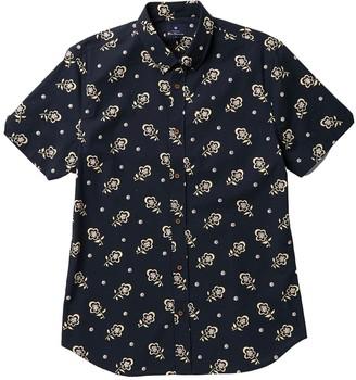 Ben Sherman Short Sleeve Floral Print Woven Shirt