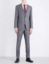 BOSS Tailored-fit three-piece wool suit
