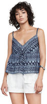 BCBGMAXAZRIA Emeli Embroidered Tank Top