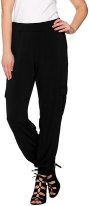 Lisa Rinna Collection Regular Banded Bottom Cargo Pants