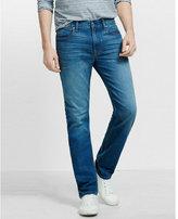Express slim rocco performance stretch slim leg jean