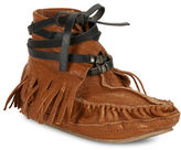 Free People Eastwood Leather Moccasins