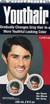 Youthair for Men Hair Color & Conditioner Creme 8oz
