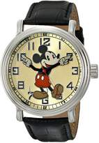 "EWatchFactory Men's 44445-3 Disney ""Vintage"" Mickey Mouse Watch"