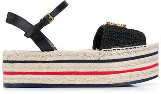 Gucci Platform Crochet Espadrilles