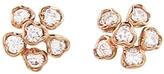 Kataoka Tiny Diamond Flower Stud Earrings