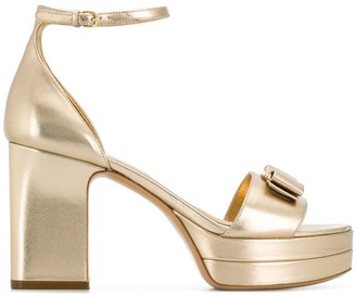 Salvatore Ferragamo Bow Detail Sandals
