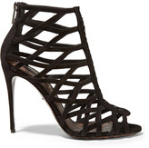 Dolce & Gabbana Keira Suede Sandals - Black
