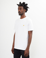 Carhartt WIP Chase Short Sleeve T-Shirt White
