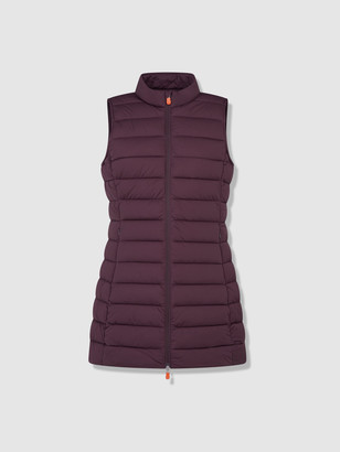 Save The Duck Women's Knitted Vest in SEAL