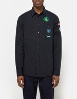 Raf Simons Regular-fit Navy Scouts Shirt