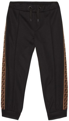 Fendi Cotton-blend tech trackpants