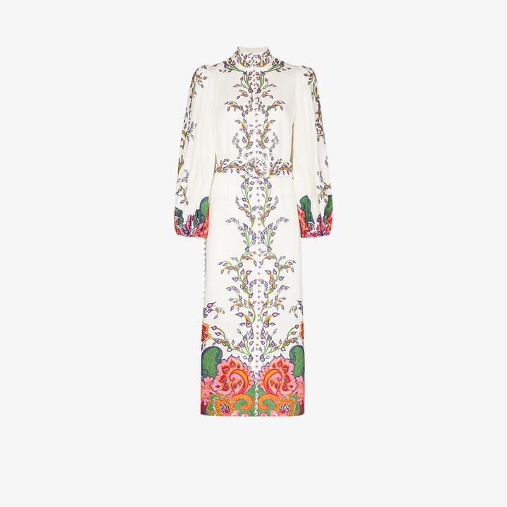 Zimmermann Lovestruck floral linen dress