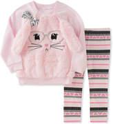 Kids Headquarters Pink Rabbit Pullover & Pink Leggings - Infant, Toddler & Girls