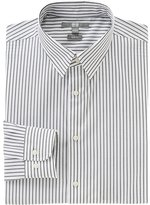 Uniqlo Men Easy Care Stretch Slim Fit Striped Long Sleeve Shirt