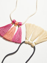 Free People Empire Tassel Necklace