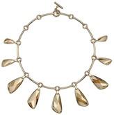Swarovski Chandelier Necklace, Gold Plating
