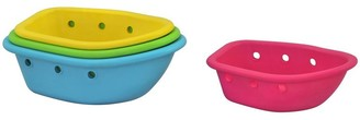 Green Sprouts Sprout Ware Floating Boats made from Plants (4 boats)-Multicolor