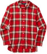 Ralph Lauren Plaid Shirt, Big Girls (7-16)